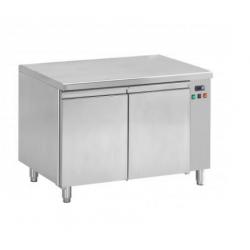 Table réfrigérée ventilée pour boulangerie 2 portes