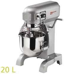 Batteur-mélangeur, 20 litres, 3 vitesses