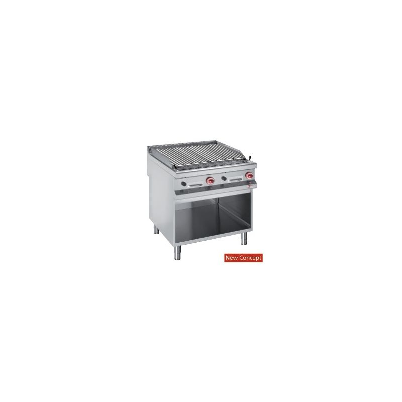 GRILL PIERRE LAVE 2x1/2/ARM+GRIL CUISSON O