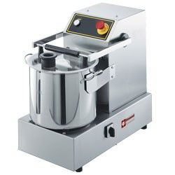 Cutter inox, 15 Lit, de table, 2 vitesses