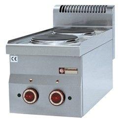 Cuisinière électrique 2 plaques -Top-