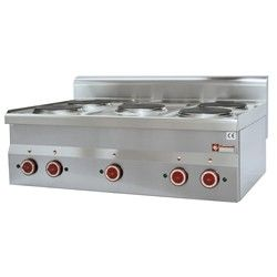Cuisinière électrique 5 plaques -Top-