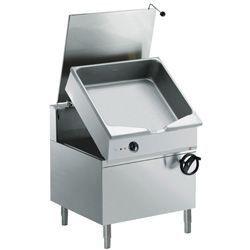 Sauteuse électrique basculante, cuve 100 litres, sur meuble