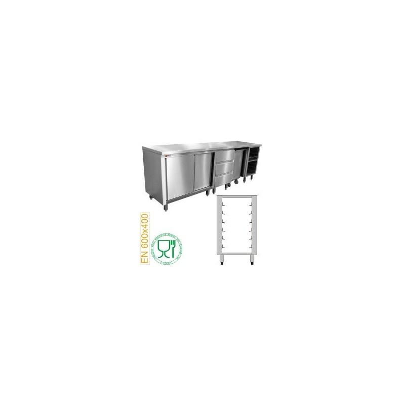 Module pâtisserie 6 niveaux plateau 600x400