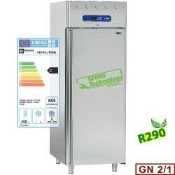 Armoire de congélation 700 litres ventilée, 1 porte GN 2/1