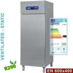 Armoire frigorifique EN 600x400, ventillé/statique 1 porte