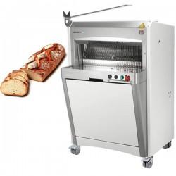 Trancheuse à pain automatique sur roulettes
