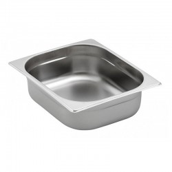 Bac Gastronorme Inox GN 1/2 profondeur 40 mm