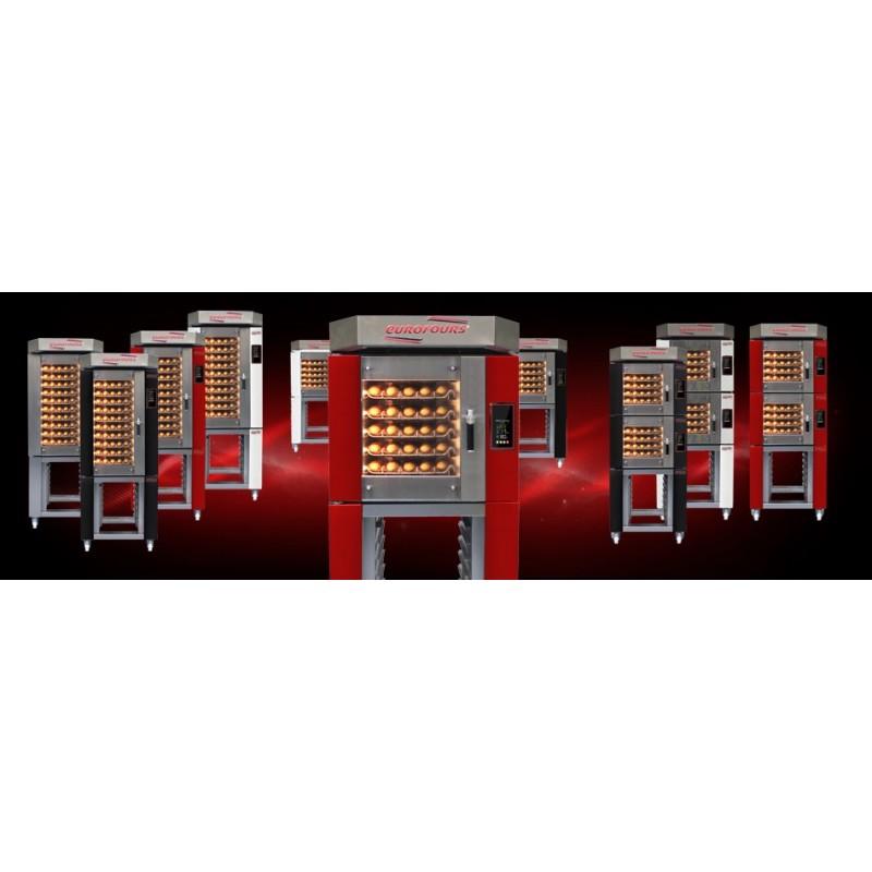 Four ventilé électrique 10 plaques : format 40 x 80 cm