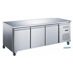 Table réfrigérée positive - 3 portes, afi collin-lucy