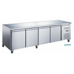Table réfrigérée positive - 4 portes, afi collin-lucy