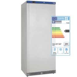 Armoire frigorifique GN 2/1, ventilée, 600 litres. Extérieur blanc