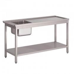 Table entrée gauche 120cm