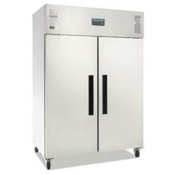 Armoire réfrigérée positive GN double porte Polar 1200L, matériel horeca