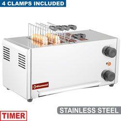 Toaster (grille-pain) électrique 4 pinces