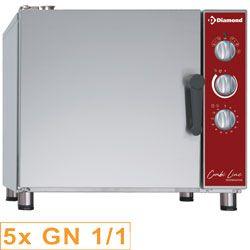 Four électrique de remise en température - maintien 5x GN 1/1 + humidificateur