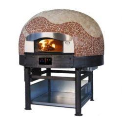 Four combiné bois 5 pizzas Ø 300mm cupole mosaique