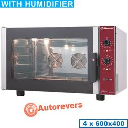 CPE644-P Four électrique à convection 4x 600x400 mm + humidificateur manuel