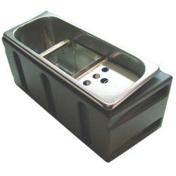 Kit - Rince-cuillère à glace inox