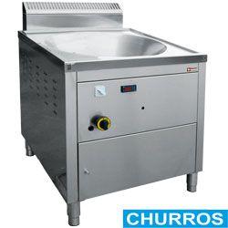 "Friteuse gaz ""turbo"" à churros 1x 22 litres"