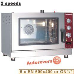 Four à convection électrique, 5x EN (GN), humidificateur automatique