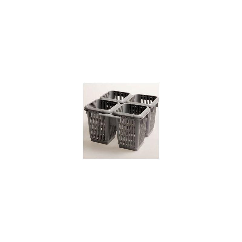 """Compartiment à couverts """"4 secteurs"""" polypropylène"""