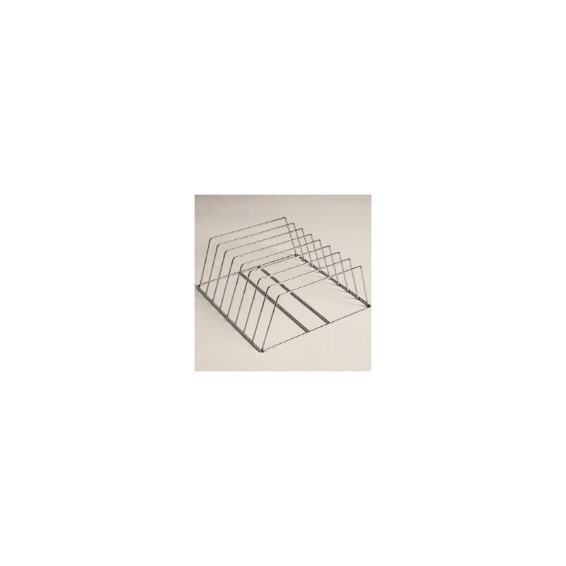 SUPPORT INOX POUR 8 PLATS GASTRO h60 MM