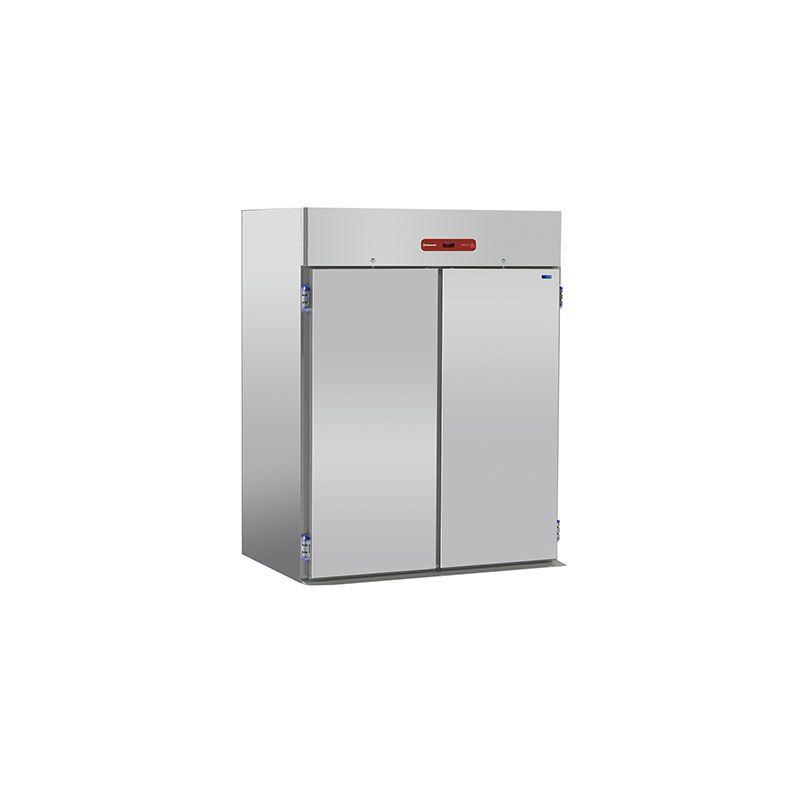 Armoire frigorifique, 2 chariots GN 2/1 - EN 600x800