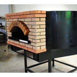 Four à pizza rond, au bois, ceky