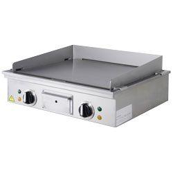 """Plaque """"Teppanyaki """" électrique, 2 zones (2x 3,15 kW), de table"""