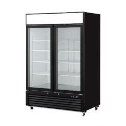 Réfrigérateur 2 portes en verre, Engelen-Heere