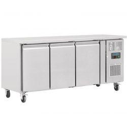 Table réfrigérée positive 3 portes 339L Polar