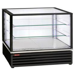 Vitrine réfrigérée EN ou GN, ventilée, 3 niveaux, NOIRE