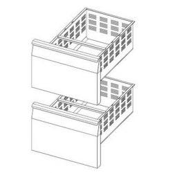 Kit tiroir pour tables et soubassements réfrigérés