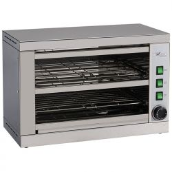 Toaster-salamandre 2 étages, avec minuterie