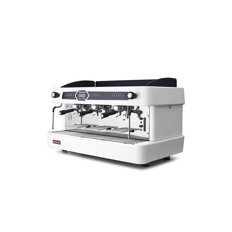 Machine à café 3 groupes, automatique.(avec display)-BLANC