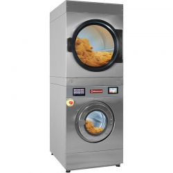 Lave-linge à super essorage 18 kg (électrique) + séchoir rotatif 18 kg (électrique) TOUCH SCREEN
