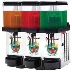 Distributeur de boissons réfrigérées, 3x 12 Litres