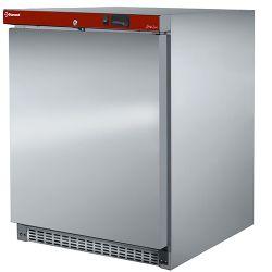 Congélateur statique, 150 litres. acier inox