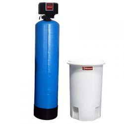Adoucisseur d'eau chrono-volumétrique, 60 Lit, avec bonbonne externe