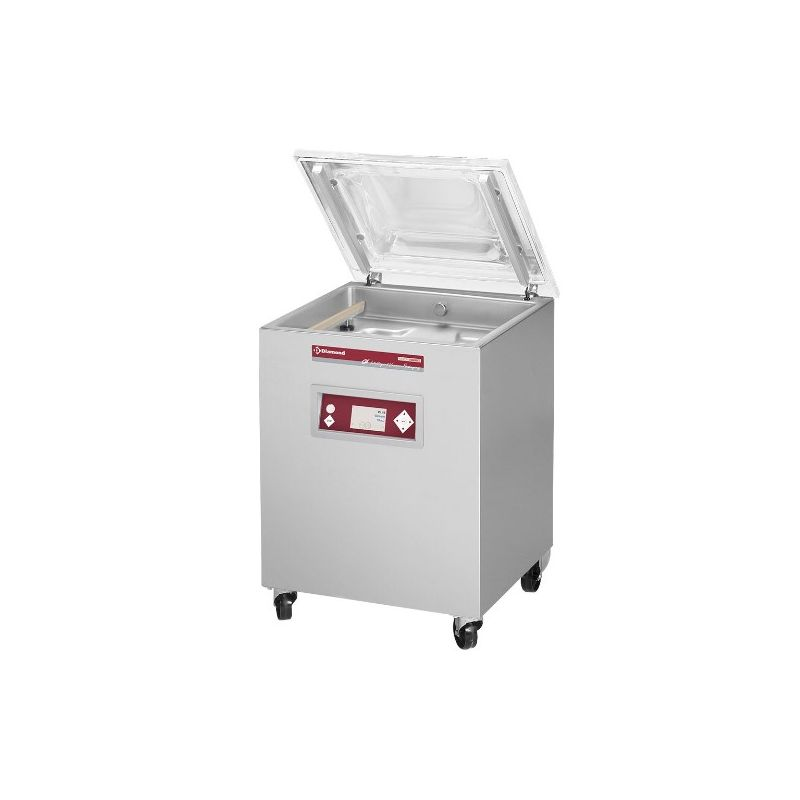 Machine sous-vide, cuve inox 600x475xh200 mm. -63 m3/h écran LCD (SC-120/IVP)