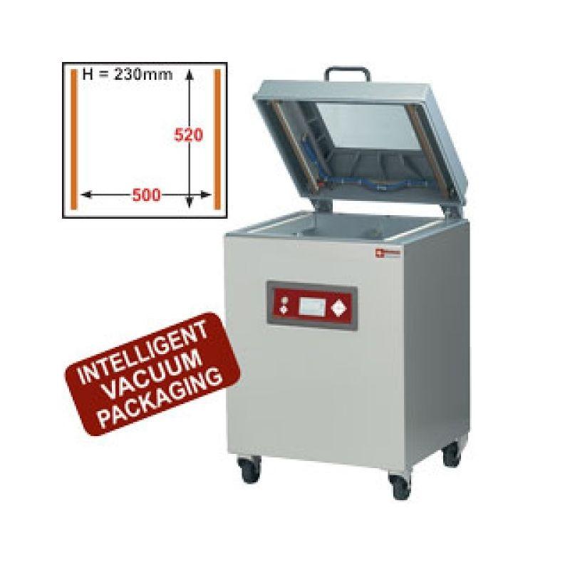 Machine sous-vide, cuve alum. 500x520xh230 mm - 63 m3/h écran LCD (SC-123V/IVP)