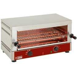 """Toaster-salamandre GN 1/1 électrique, 1 étage (520x320), à """"Quartz"""""""
