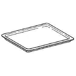 Platine en inox 433x333 mm