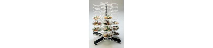 Structures de dressage assiettes
