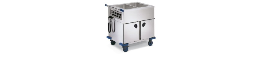 Chariots thermiques /bain-marie