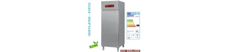 armoires réfrigérées négatives et positives